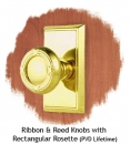 Ribbon-Reed-Knobs-with-Rectangular-Rosette